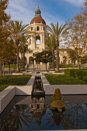 Pasadena City Hall reflection