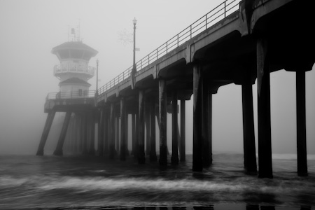 Fog at the Pier