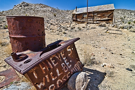 Thieves will be prosecuted: Lost Burro Mine