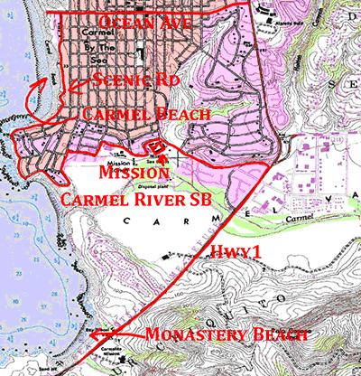 Carmel Map