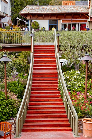 Stairs at Carmel Plaza