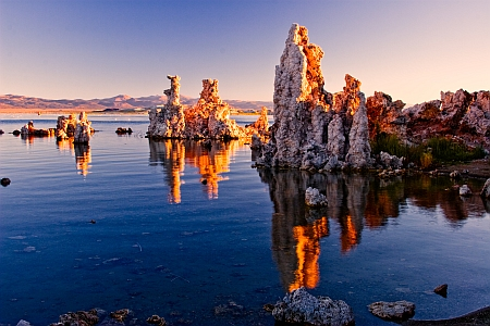 Tufa after sunrise