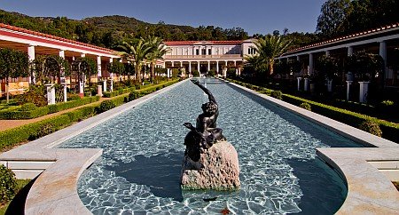 Getty Villa Reflecting Pool