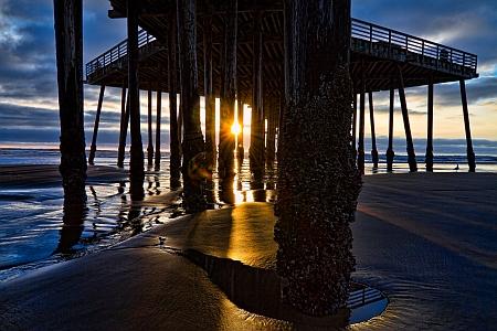 Pismo SB Pier Sunset