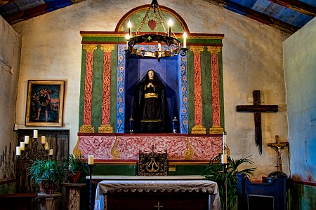 Chapel with Virgin Mary Statue